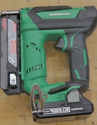 METABO NP 18DSAL CORDLESS PIN NAILER  WITH BSL1830C BATTERY NEW. OUT OF BOX.  Baltimore, 21205