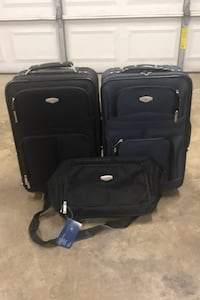 "Protocol 2 Small suitcases 21"" and carry-on tote"