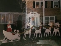 Santa and sleigh with reindeer  Freehold, 07728