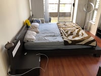 King Size Bed (solid wood) for sale  Burnaby, V5C