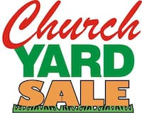 church yard sale text Castroville, 95012