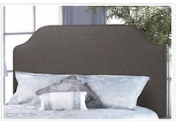 Upholstered queen size fabric headboard Toronto, M6N 3G1