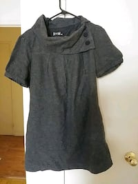 gray crew-neck dress size M Toronto, M3C 1B5