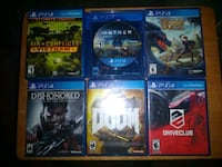 PS4 Games 10.00 each