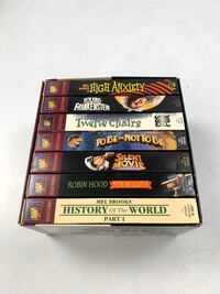 Mel Brooks Comedy Classic 7 of his Best Movies in one Boxed VHS Set Los Angeles, 91304