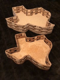 Wooden Texas Dish Set Houston, 77090