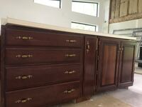 Kitchen cabinets cherry solid wood McLean, 22101