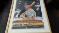 Robert Stephen Simon / Mickey Mantle Auto