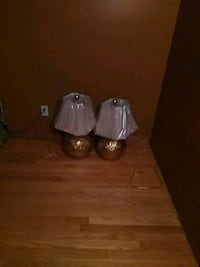 two gold ball lamps Knoxville
