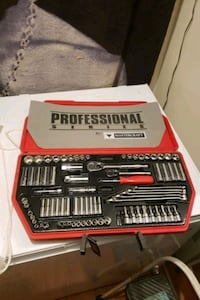 85 piece 1/4 and 3/8 drive set