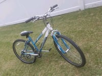 gray and blue hardtail mountain bike New Hyde Park, 11040