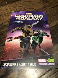 Marvel Guardians Of The Galaxy Colouring & Activity Book