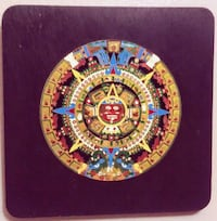 Sun Stone or Aztec Calendar Art. Salem, 97301