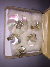 Old Mother of Pearl Jewellery Made in France Toronto