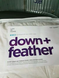 Brand new queen done and feather duvet Vernon, V1T 3G1