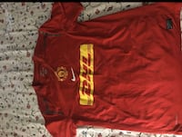 Authentic manchester united team jersey