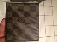 black and gray Louis Vuitton leather wallet Pompano Beach, 33064