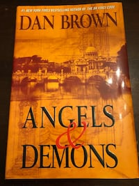 Angels and Demons (Dan Brown) hard cover Edmonton, T5B 1C8