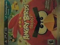 Angry Birds Trilogy PS3 game case Fort Atkinson, 53538