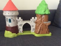brown, grey, and green castle toy Annandale, 22003
