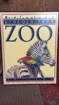 Lincoln Park Zoo framed Anchorage, 99503