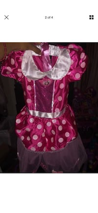 toddler's pink and white polka dot dress Clifton, 07011