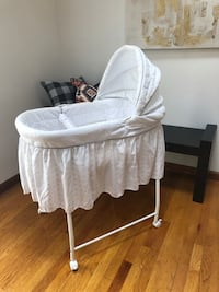 Baby bassinet - white - bought for 100.  Avon, 06001