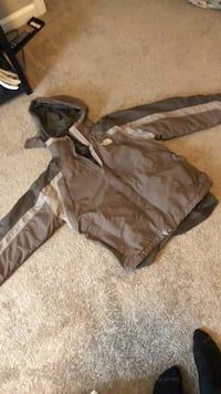 brown and black zip-up hoodie North Charleston, 29456