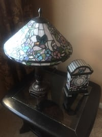 two black-and-white table lamps Reno, 89521