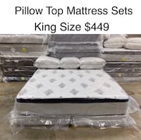King Size Pillow Top Mattress Sets(New) Delivery & Financing Available Atlanta, 30318