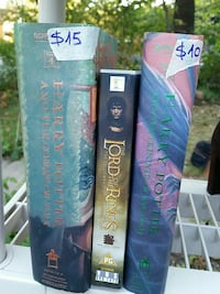 The Lord of the Rings and two Harry Potter books Takoma Park, 20912