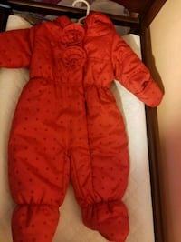 Red snow suit Buffalo, 14210