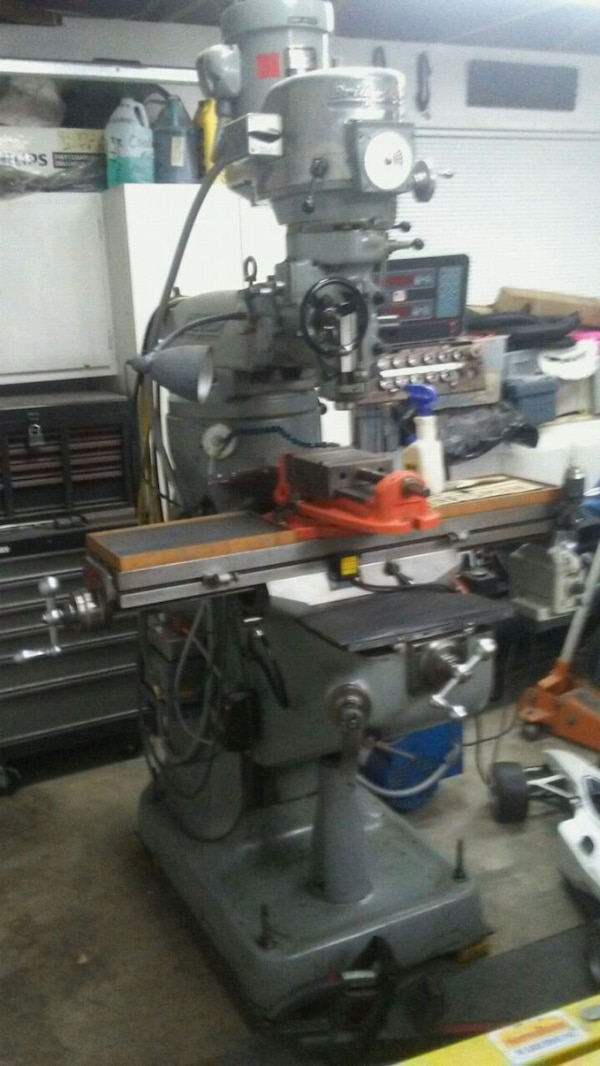 Milling Machines For Sale Used Metal Milling Machines >> 1975 Bridgeport Milling Machine