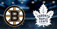 Maple leafs vs Boston Mississauga, L5R 1P5