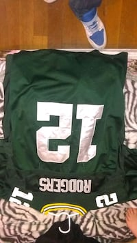 green and white NFL jersey Appleton