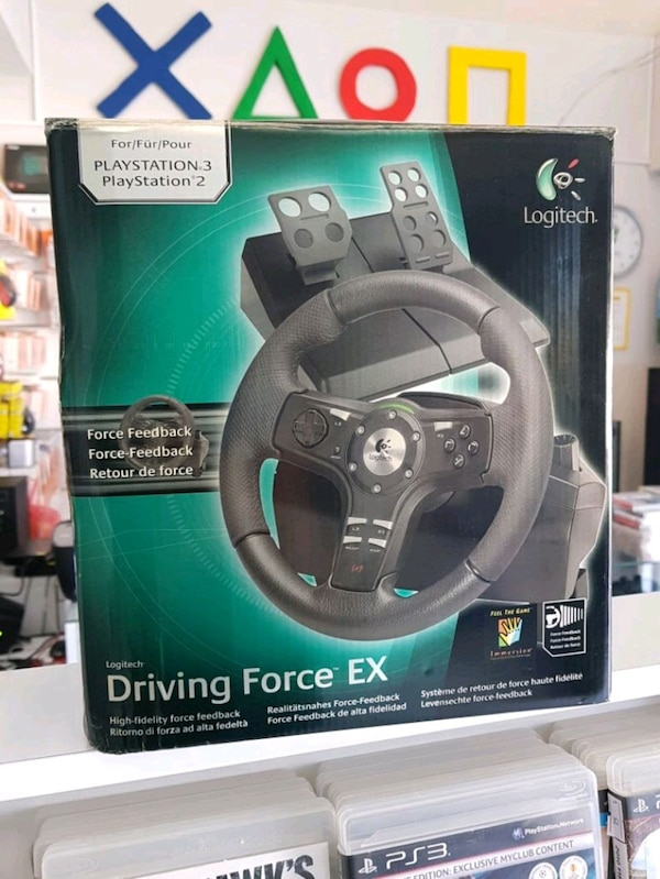 e663e86686a Used Logitech Driving Force ex Direksiyon seti for sale in ...