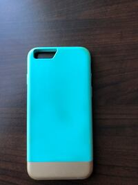 iPhone 6/6s/7 Mint Green and Gold Case