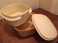 Tupperware microwave steamer