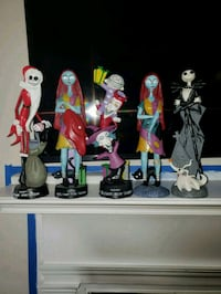 Nightmare Before Christmas Statues lot of 5