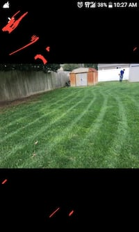 I mow lawns and do landscaping! Virginia Beach