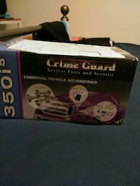 crime guard keyless entry and security essential vehicle accessories box Bristow, 20136