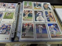 Baseball collector cards Langdon
