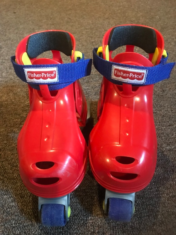 Fisher Price Red and blue ride on toy