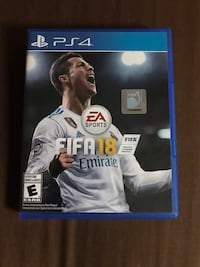 Fifa18 PS4 in mint condition  Toronto, M1C 5J7