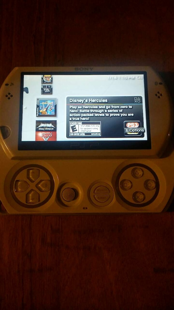 psp go with 4 games instaled