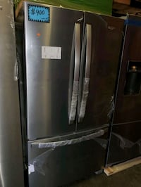 W. French doors fridge NEW scratch and dent