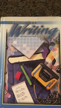 Elements of Writing Educational Book Chantilly, 20151