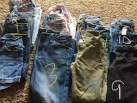 two blue and one black denim jeans Santa Maria, 93455