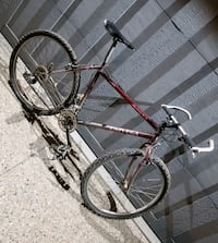 MOUNTAIN BIKE **WITH EXTENDED HANDLES!!**