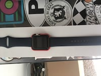 space grey aluminum case Apple Watch with black sports band